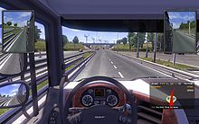 File:Euro Truck Simulator 2 driver view screenshot.jpg