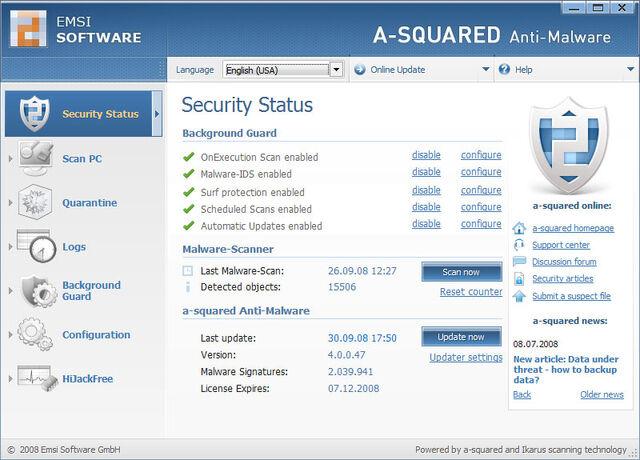 File:A Squared Anti-Malware Screenshot.jpg