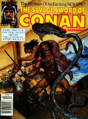 Savage Sword of Conan Vol 1 190
