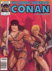 Savage Sword of Conan Vol 1 106