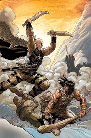 Conan the Cimmerian -5 Frank Cho