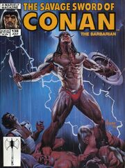 Savage Sword of Conan Vol 1 138