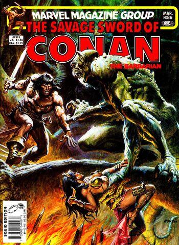 File:- 86 Revenge of the Sorceror March 1, 1983.jpg
