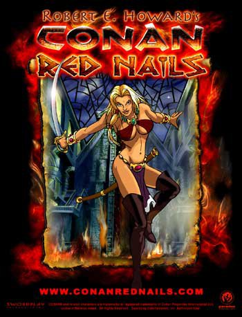 the characterization of valeria in red nails a story by robert e howard Red nails, by robert e howard like the rest of the city it contained four stories valeria's red-stained sword lay on the couch beside her.
