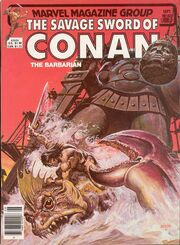 Savage Sword of Conan Vol 1 80