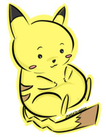File:Pikachu holding his belly.png