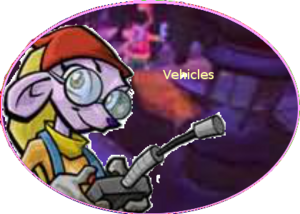 Sly Vehicles Button