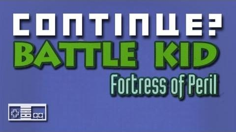 Battle Kid Fortress of Peril (NES) - Continue?