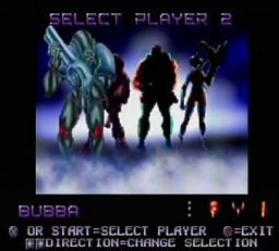 Contra Legacy of War Player Select Bubba