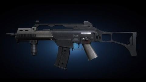Contract Wars G36C Shooting Test