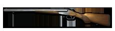 Rifle double unlocked