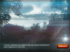 Old Sawmill Map