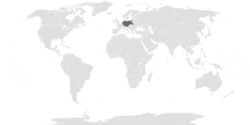 Location of the Greater German Reich