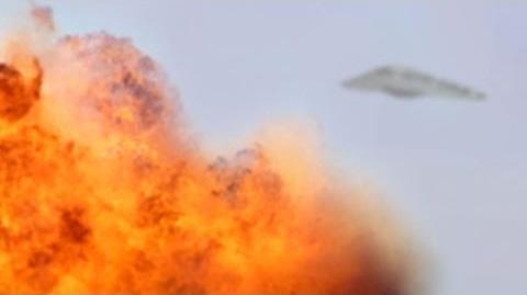 UFO ATTACKS TALIBAN CAMP !!! March 2014