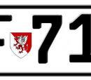 Vehicle registration plates of Occitania
