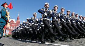 Russian Army Parade