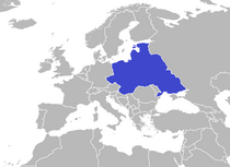 Map of East European Federation