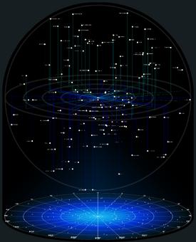 Solaris Federation (Axonometric Projection)