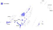 Gau-Iectanian lenguaje map