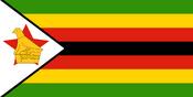 Flag of the Zimbabwe