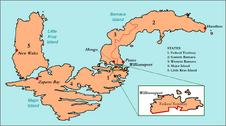 Kruz Islands States Map