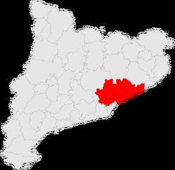 Vegueria del Vallès-Maresme map.png