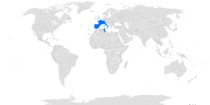 Location of the Holy League