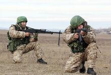 Russian Desert Soldiers