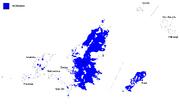 Iectanian lenguaje map