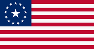 Original flag of liberty