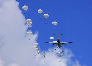 Hurian Paratrooper Assault