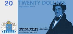 20 Kanian dollars