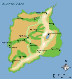 Geography of Nge'ardhi