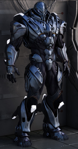 ISF Powered Assault Armor Suit