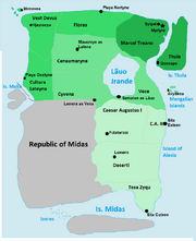 Federal divisions and capitals