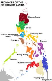 Lanna regions named