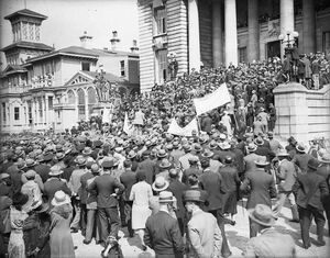 Great Depression protests in Port Desire, 1933