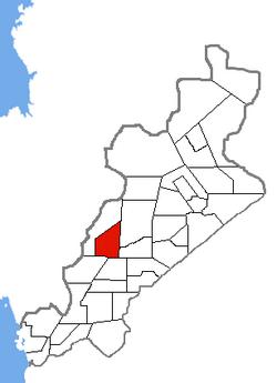 Location of Robinson City
