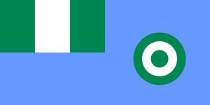 Nigerian Air Force Flag