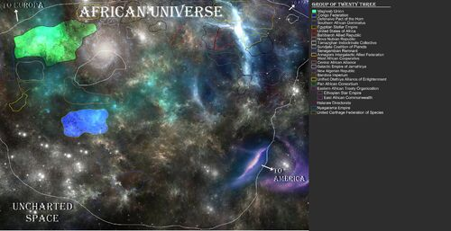 AFRICAN Universe - Major powers