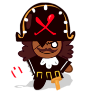 Pirate Cookie Old
