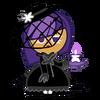 Blackberry Cookie Halloween