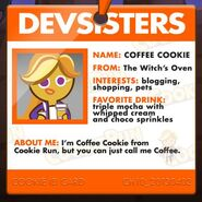 Coffee Cookie Nametag