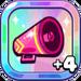 Cheerleader Cookie's Pink Megaphone+4