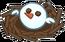 Kiwi Bird Snowman