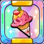 Honey Strawberry Ice Cream