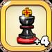 Champion Chess Piece+4