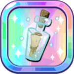 Peppermint Cookie's Message in a Bottle