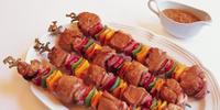 Deep-Fried Pork Kebabs