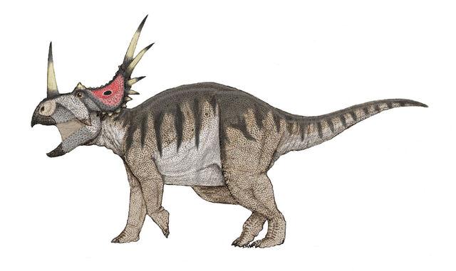 File:Styracosaurus full color by Ahrkeath.jpg